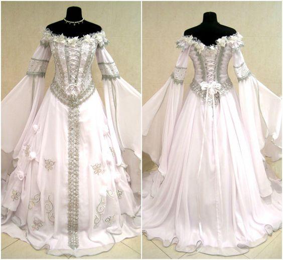 Robe de mari e m di vale l xl 2xl 16 18 20 argent sorci re for Robes de mariage en argent