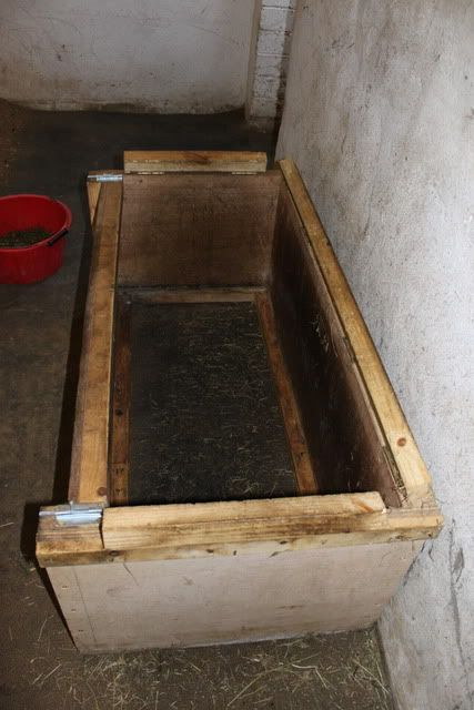 Horse Feeder Wooden Pallets And Hay On Pinterest