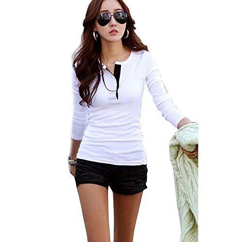 Shivali Sethi Women's Autumn Winter Korean Casual Long Sleeve Shirt Warm Base Shirt Tops Blouse ACEFAST INC http://www.amazon.com/dp/B016VQX8LO/ref=cm_sw_r_pi_dp_UT0ywb1JQ252Y