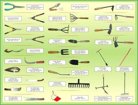 Top Gardening Tools List On Nice Home