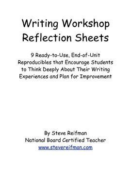 reflective essay plan
