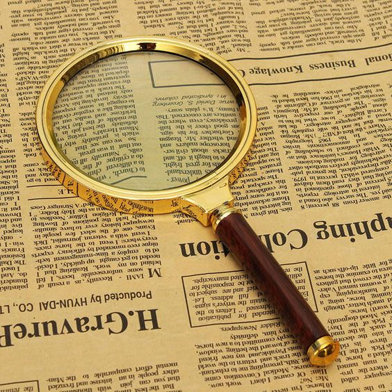 90mm 10X Magnifier Magnifying Glass Lens Zoomer Loupe