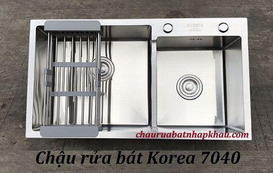 Tại sao chậu rửa bát Korea 7040 lại bán chạy đến vậy?