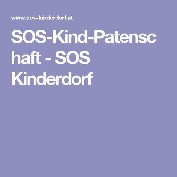 SOS-Kind-Patenschaft - SOS Kinderdorf