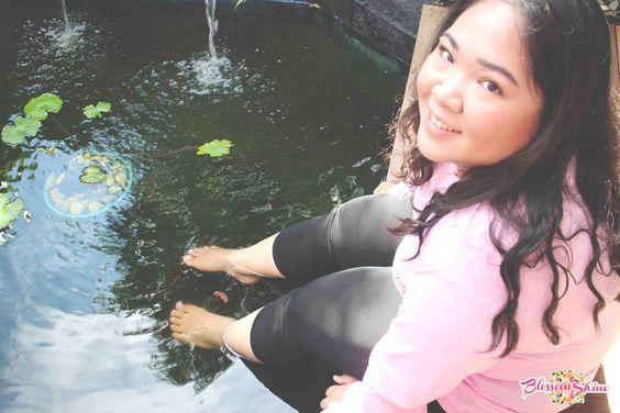 Enjoying Fish Spa