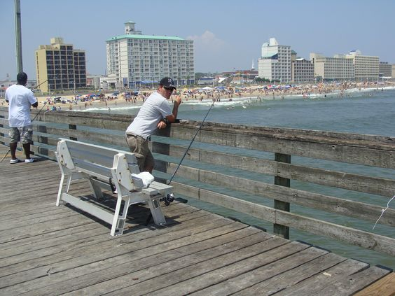 Virginia beach virginia and beaches on pinterest for Va beach fishing pier