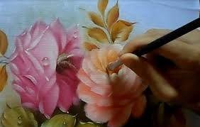 Resultado de imagem para artesanato pintura em tecido