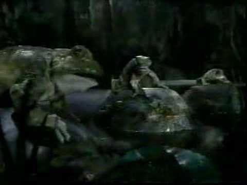 Last Budweiser Frog/Lizard commercial: Frogs revenge