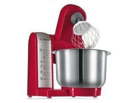 Bosch MUM48R1 Küchenmaschine MUM4 (600 Watt, 39 Liter, Edelstahl