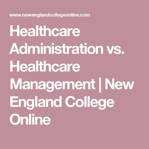 Healthcare Administration vs Healthcare Management New England - receptionist resume template