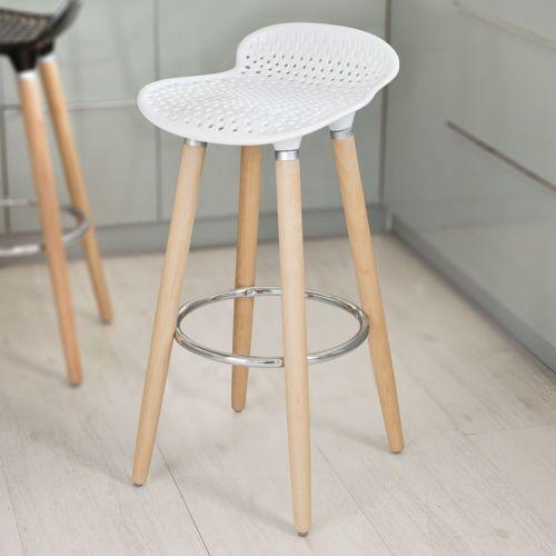 Details About Sobuy Bar Stool Kitchen Breakfast Barstool Abs Plastic Seat Fst35 W White Uk Bar Stools Kitchen Bar Stools Home Bar Furniture