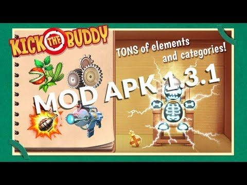 Kick The Buddy Mod Apk 1 3 1 Unlimited Money And Gold Grappig
