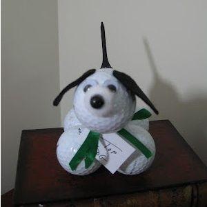 Golf Ball Dog - Father's Day Craft