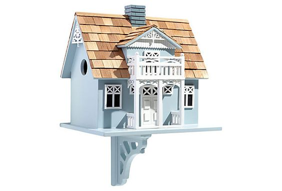"""Danish Cottage Birdhouse on OneKingsLane.com - This could go right next to the Swedish bird house!  I could have a little collection of """"stugas""""."""