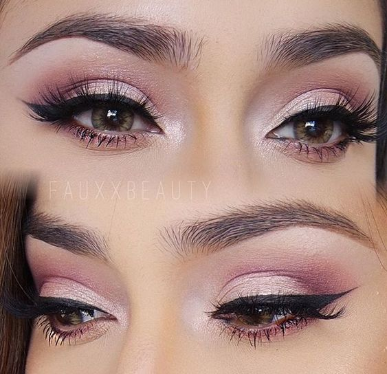 Pretty, pink and perfect @fauxxbeauty #Makeup