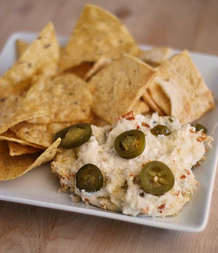 can't go wrong with this jalapeno popper dip. you just have to ignore the calorie counts.