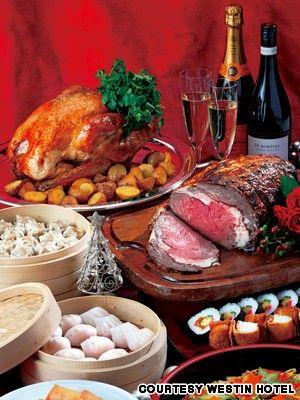 Tokyo Christmas dinner
