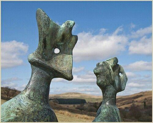 Resultado de imagen de king and queen henry moore