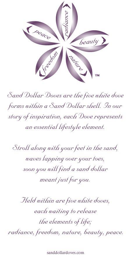 Wedding Gift Poem For Dollars : ... the sand dollar sand dollar decor sand dollar tattoos doves poem sand