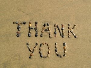 Thank You. What's On Your Gratitude List Today ?