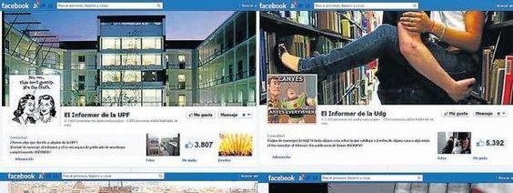 Cotilleo universitario a través de Facebook / Helena Paloma Josep Playá @lavanguardia | Las tres creadoras de la página Informer de la UAB, con 11.500 seguidores en sólo una semana, confiesan que se sienten desbordadas : el fenómeno de los Informer se ha extendido a ciudades, colegios e instituciones de toda Catalunya | #readyforsocialmedia
