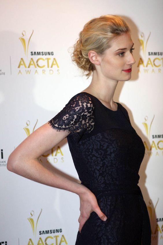 Elizabeth Debicki at AACTA awards 2012 - 02.