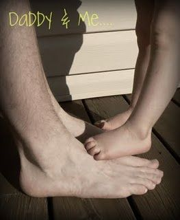 Daddy and me...
