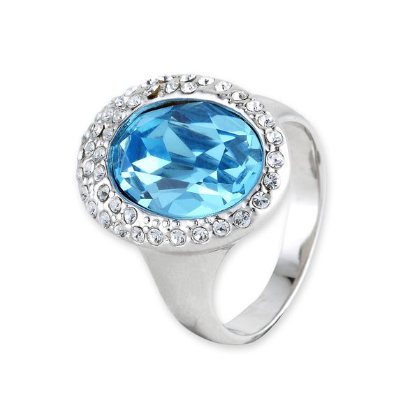 Veretta Crystal Ring  #swarovski, #ring  http://www.playbling.com/en/crystal-jewelry/crystal-ring/veretta-crystal-ring-85.html