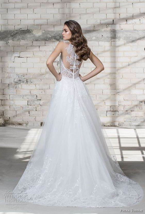elegantly romantic Pnina Tornai 2019 Wedding Dresses