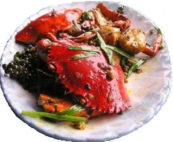Món ăn có sự độc đáo nhờ Kampot xanh
