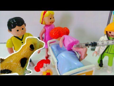 الكلب عض لولو وجنا وخايفين ياخدو الإبرة قصص اطفال عائلة عمر Youtube Doll Play Stories For Kids Pluto The Dog