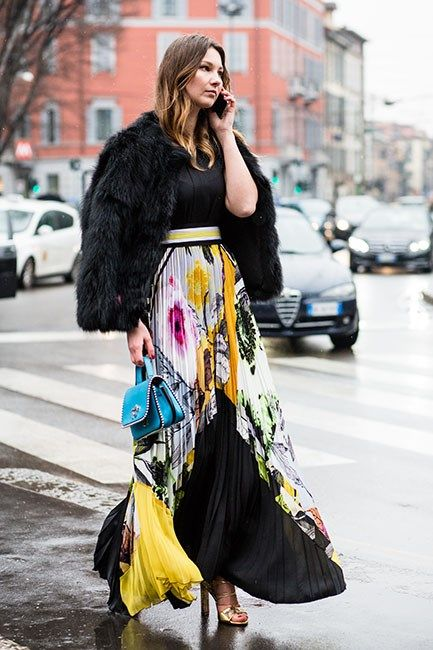 The Best Street Style From Milan Fashion Week Fall 2016 February 2016 Street Chic