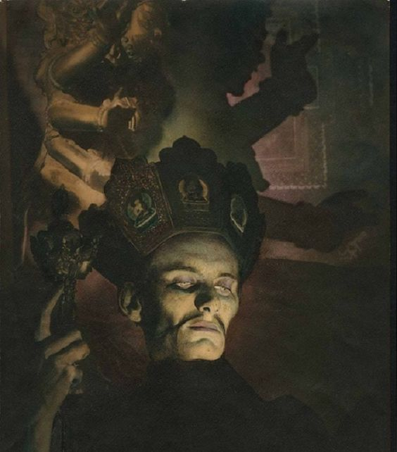 William Mortensen - Sorcier Tantrique