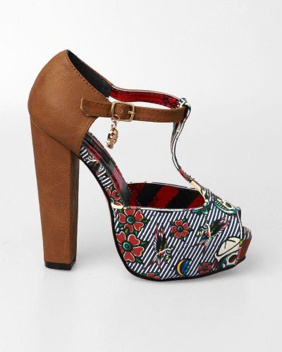 Amazon.com: Iron Fist Filthy Landlubber T Bar Plat - Tan: Iron Fist: Shoes