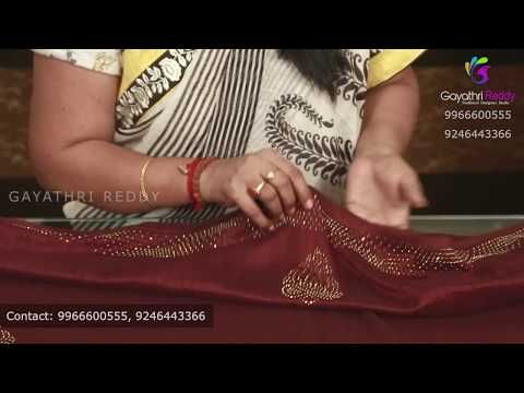 Traditional Fancy Sarees ట ర డ షనల ఫ య న స శ ర స Gayathri Reddy Traditional Designer Studio Youtube Fancy Sarees Block Print Fancy