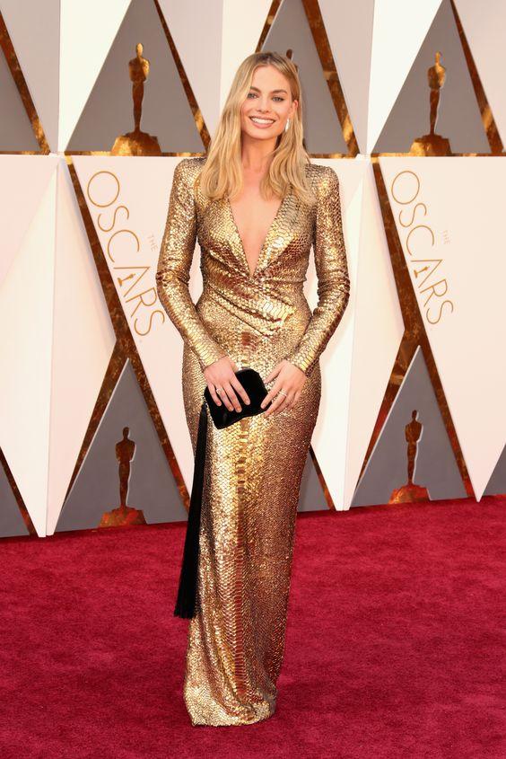 Margot Robbie no Oscar 2016: