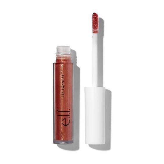 e.l.f. Cosmetics Lip Lacquer In Mauve Glitz