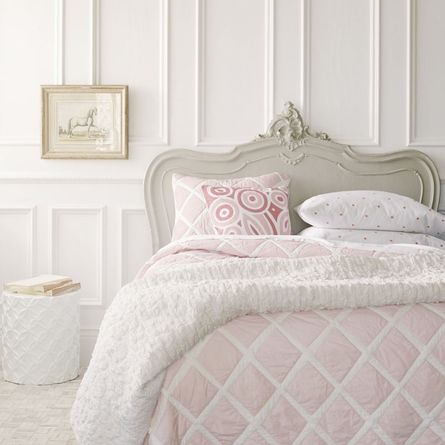 Maybe this pink diamond quilt