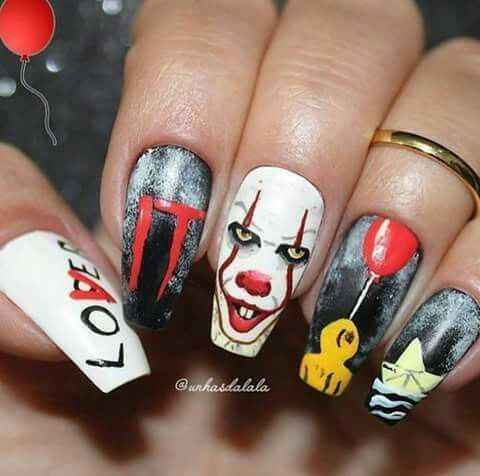 Halloween 2020 Eso Pinterest: @SMWolfhard 💅|| I LOVE IT #IT #ESO #NAILSART in 2020