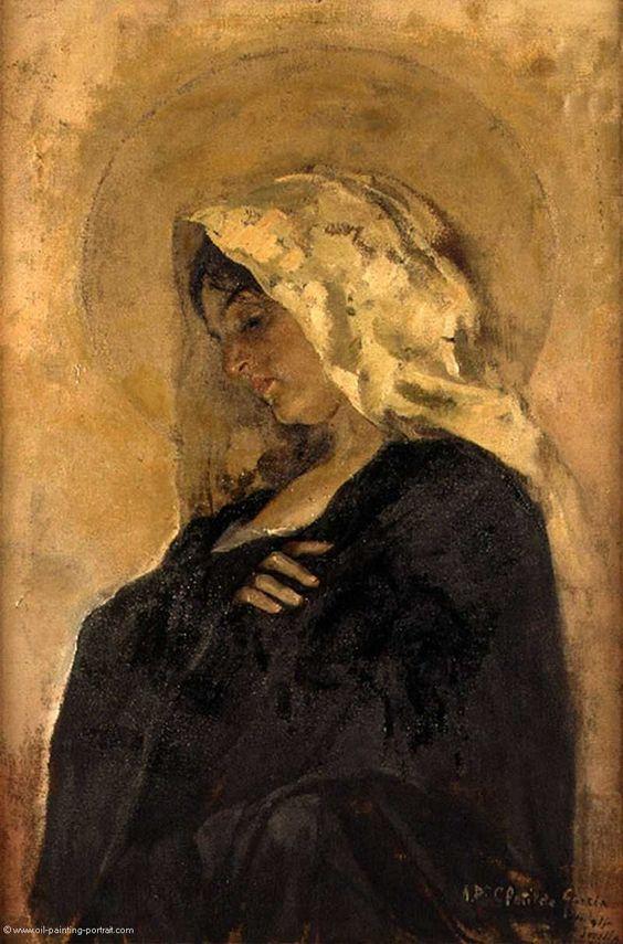 """""""La Virgen María"""" -Joaquín Sorolla.  #FelizNavidad #MerryChristmas"""