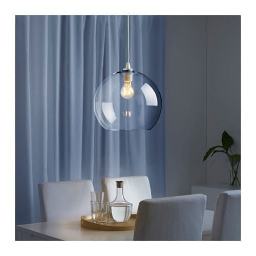 Jakobsbyn Abat Jour Suspension Verre Transparent Ikea In 2020 Pendant Lamp Shade Rustic Lamp Shades Ikea Lamp
