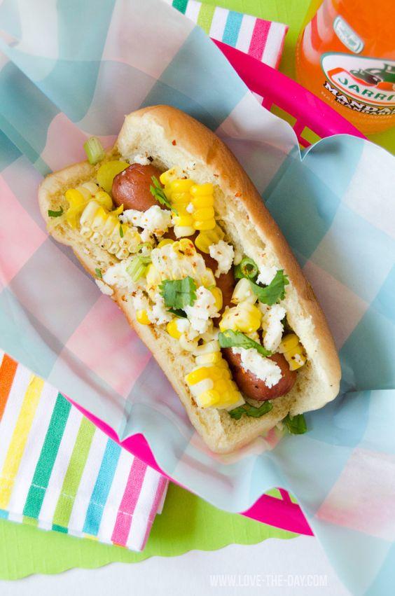Mexican Corn Hot Dog Recipe