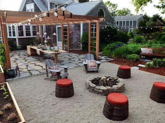71 fantastic backyard ideas on a budget backyards read for Small backyard oasis