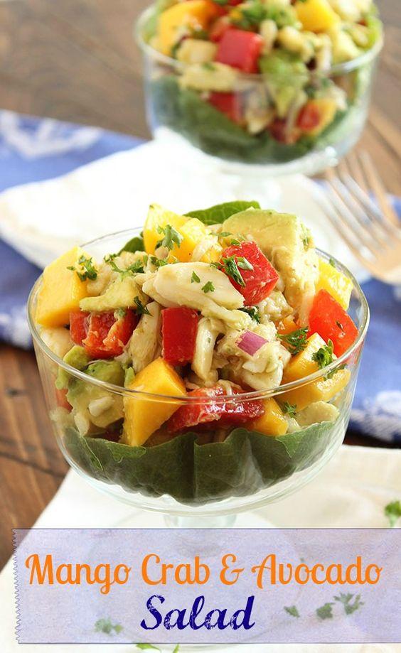 Avocado salads, Salads and Entertaining on Pinterest