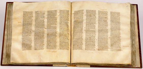 Codex Sinaiticus, 4th century