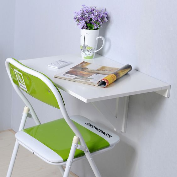 Simple Study Table : Special simple tables side tables foldable desk folding small table ...