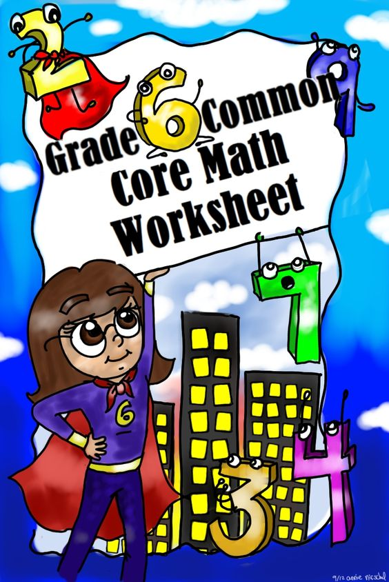 math worksheet : free grade 6 common core math worksheets!  grade 6 common core  : Common Core Standards Math Worksheets