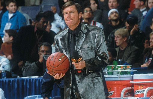 Craig Sager ..... Craig Sager 4. We kind of like this one actually. One of the few suits you could look at and see if there's anything in your teeth.