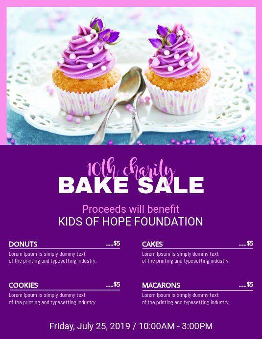 25 Bake Sale Flyer Templates Free In 2020 Bake Sale Flyer Sale