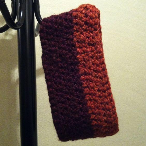 Crochet: Autumn neck warmer